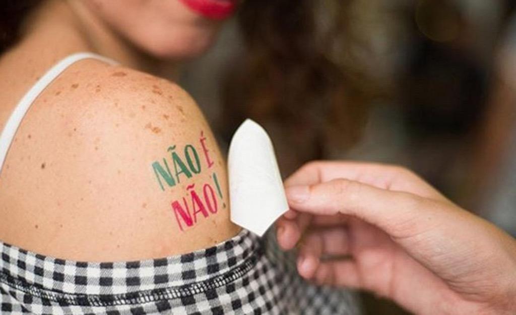 b351ff980 Salvador tem campanha contra assédio às mulheres no Carnaval || Créditos:  Divulgação