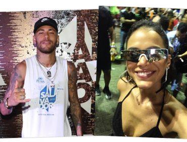 Neymar curte Carnaval de Salvador com muito beijo na boca… de quem?
