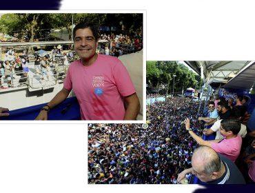O prefeito ACM Neto acompanha Carnaval no Campo Grande neste domingo