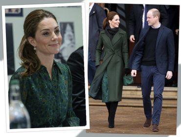 Kate Middleton dispensa estampa de onça e aposta em outro bicho