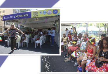 Camarotes Acessíveis ampliam inclusão no democrático Carnaval de Salvador