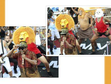 """Com música """"Rei Leão"""", Psirico é a marca da irreverência do Carnaval baiano"""
