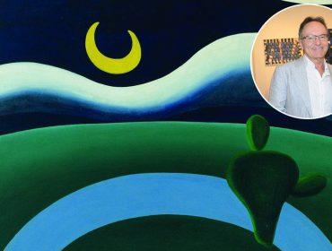 O galerista Paulo Kuczynski comemora a venda de 'A Lua', de Tarsila do Amaral, para o MoMA