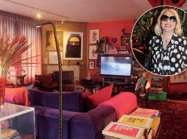 """Amizade """"colorida"""" entre Astrid Fontenelle e Neza Cesar resultou em um lar technicolor. Aos detalhes!"""