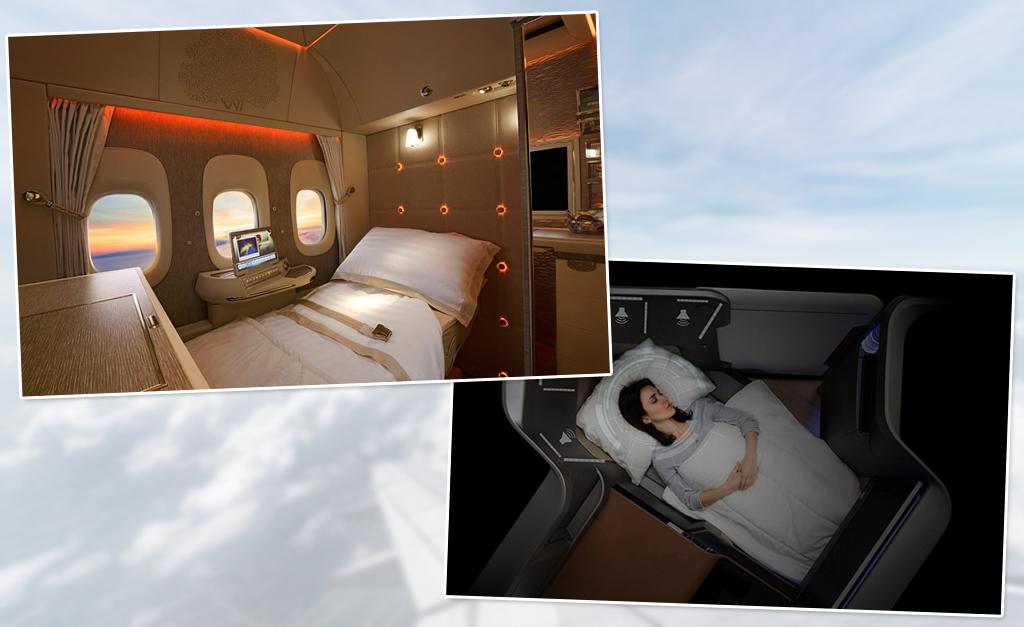 d04f88ab958 As melhores inovações de companhias aéreas para o  Oscar de cabine ...