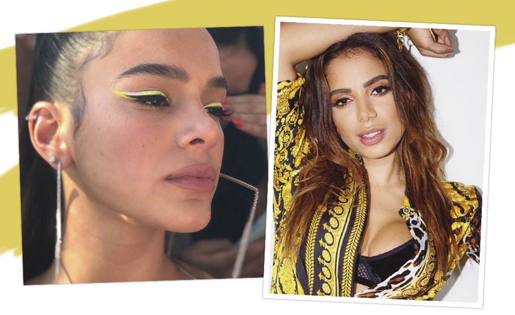 a71f0357e Bruna e Anitta durante o Carnaval    Créditos: Reprodução Instagram