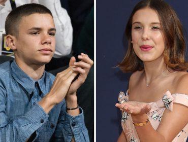 Millie Bobby Brown e Romeo Beckham estão namorando e já têm a aprovação até de Victoria