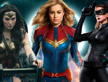 Heroínas e amigas! Mulher-Maravilha e Mulher-Gato parabenizam Capitã Marvel pelo sucesso nos cinemas