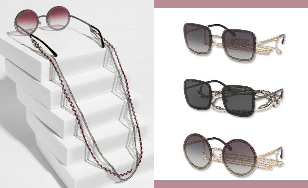 ff4bd8af1 Óculos de Sol sempre e pra sempre, até na temporada de frio, quando o sol  não dá tanto as caras. Unindo sofisticação e modernidade, a nova coleção  Chanel ...