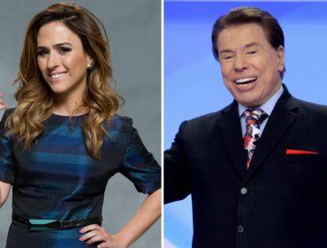 """Silvio Santos se derrete por Tatá Werneck: """"Ela é sensacional, fabulosa e extraordinária"""""""