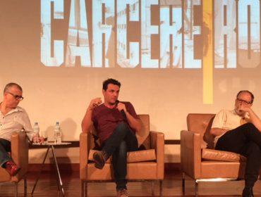 """Sucesso em """"Carcereiros"""", Rodrigo Lombardi afirma: """"Na série, assim como em 90% dos meus trabalhos, não era a primeira opção"""""""