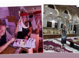 Depois de baladar no Rio, Suzana Vieira desembarca em Dubai para dias de pura ostentação