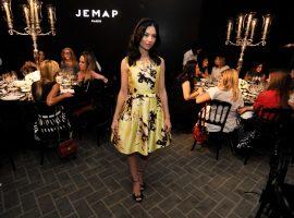 Danielle Vasconcellos reuniu turma de glamurettes para lançamento da Jemap