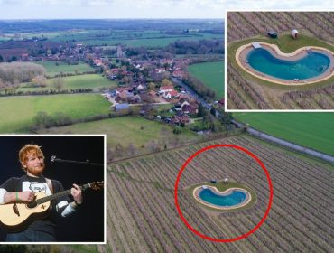 Ed Sheeran quer construir a Sheeranville em região histórica da Inglaterra, mas vizinhos não deixam