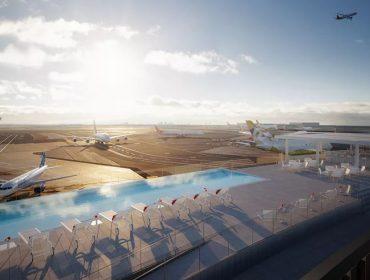 Maior aeroporto de NY, JFK vai ganhar novos restaurantes, museu e hotel com piscina de borda infinita