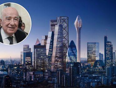 Joseph Safra, o homem mais rico do Brasil, tem aval para construir prédio com 305 metros de altura em Londres