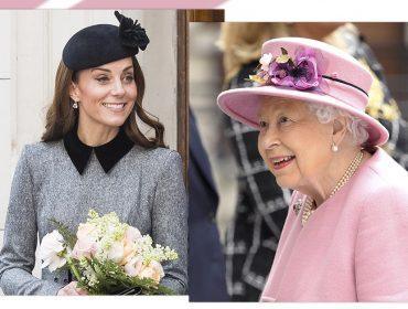 Em meio à suposta rivalidade com Meghan Markle, Kate Middleton recebe honraria da rainha