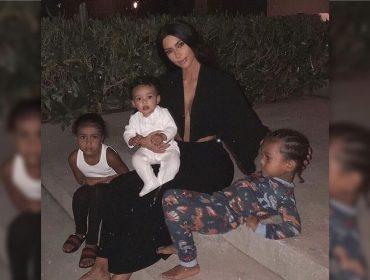 """Kim Kardashian admite que está """"meio desesperada"""" com a chegada de mais um herdeiro"""