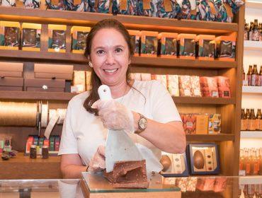 Inauguração de loja da Dengo Chocolates agita shopping Leblon no Rio