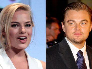 Há algo além de amizade entre Margot Robbie e Leo DiCaprio? A namorada do ator acha que sim…