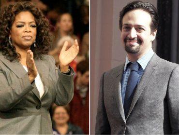 Oprah doa R$ 7,7 milhões para programas de arte coordenados por Lin-Manuel Miranda em Porto Rico