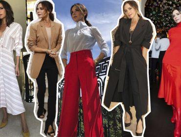 Victoria Beckham completa 45 anos de elegância e minimalismo. Aos 10 melhores looks da ex-Spice Girl