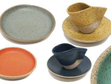 Patrícia Osório, fundadora do Studio Pod, assina coleção de cerâmicas exclusiva para a dpot objeto