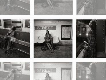 Naomi Campbell é o rosto da nova campanha da Valentino com cliques feitos no metrô de Nova York