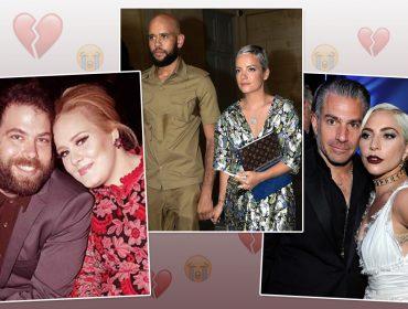 Além de Adele e Simon Konecki, confira outros casais famosos que se separaram em 2019