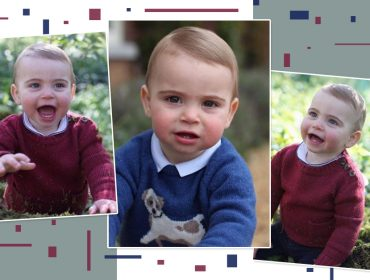 Príncipe Louis, filho de William e Kate Middleton, comemora um ano e mostra que é a cara dos irmãos