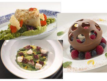 Páscoa do La Tambouille traz dois pratos principais e sobremesa colorida