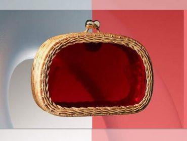 Desejo do dia: clutch de acrílico e vime da coleção Pop da Serpui