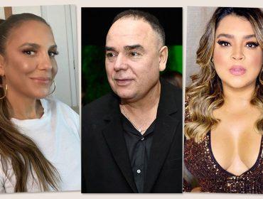 Ivete Sangalo, Reinaldo Lourenço e Preta Gil e artistas em companha de arrecadação do InCor