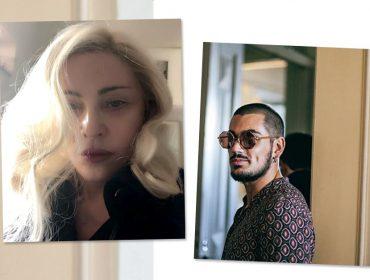 """""""Crush"""" português de Madonna assume namoro com ex-babá das filhas da cantora"""