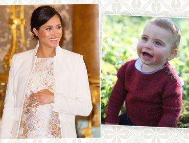 Haters julgam comentário supostamente escrito por Meghan Markle em foto do Príncipe Louis