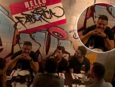 Ronaldo curte noite com Andrés Sanches e turma de amigos em novo spot de São Paulo