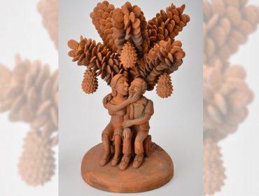 Esculturas de Sil da Capela passam a compor a coleção  dpot objeto