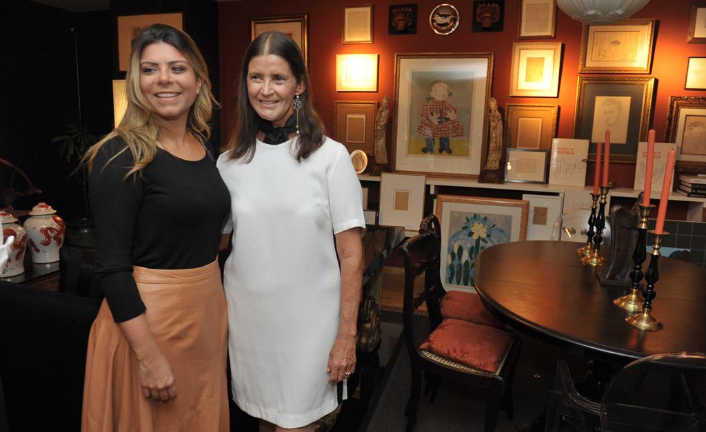 Tarsilinha do Amaral abre sua casa em petit comité com a Florense