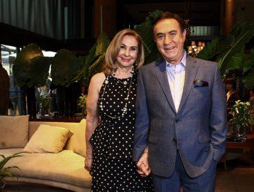 Amaury Jr. pilotou sunset party em São Paulo para comemorar estreia de seu programa