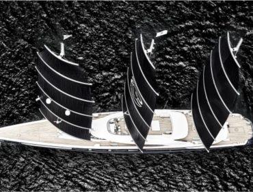 """Apresentamos o """"Black Pearl"""", mega-iate de mais de R$ 800 mi que acaba de ser eleito o melhor do mundo"""