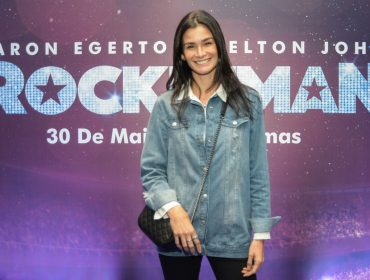 """Glamurettes se reúnem no shopping Cidade Jardim para a pré-estreia de """"Rocketman"""""""