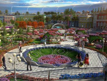 Novo shopping de Dubai promete revolucionar o varejo com mistura de centro comercial e jardim botânico