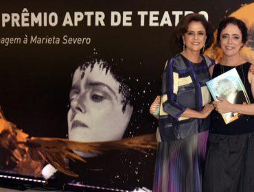 Marieta Severo é homenageada pelo Prêmio APTR no Rio de Janeiro nessa terça