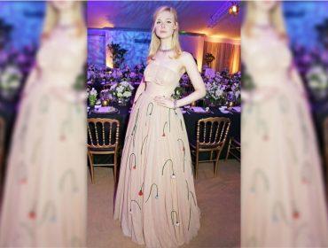 """Elle Fanning desmaiou em Cannes por causa de vestido """"apertado demais"""". Vem saber"""