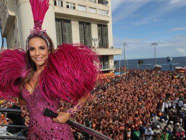 Ivete Sangalo já está com a cabeça no Carnaval 2020 e terá um camarote para chamar de seu em Salvador