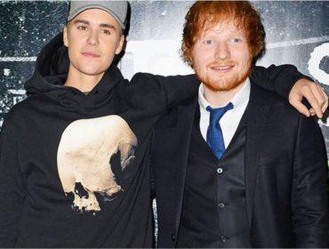 Jornal confirma que Justin Bieber e Ed Sheeran gravaram single juntos que será lançado nesse mês