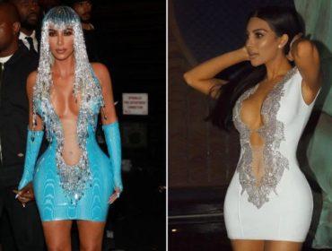Sósia de Kim Kardashian acusa a reality star de ter copiado um de seus looks mais famosos. Oi?