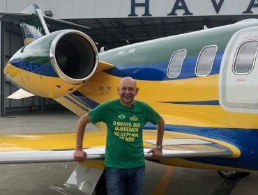 Luciano Hang, dono da Havan, comprou um jatinho de quase R$ 250 mi. Conheça a máquina!