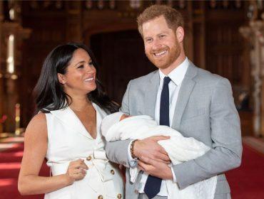 Kate e William aproveitaram pivô que deram no Castelo de Windsor para conhecer o sobrinho Archie