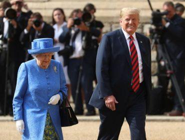 Menu de jantar entre Trump e a Rainha Elizabeth vira problema no Reino Unido